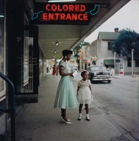 Gordon Parks, 1956, segregation series.