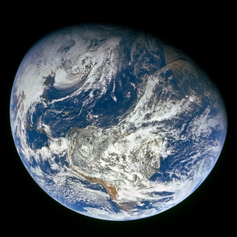 Earth Viewed by Apollo 8